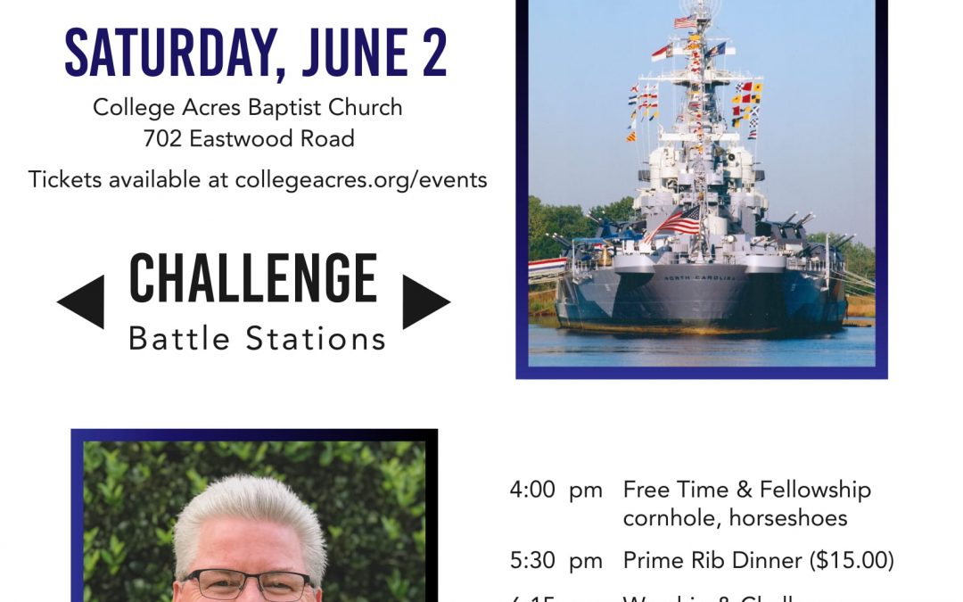 Men's Rally – Wilmington, NC