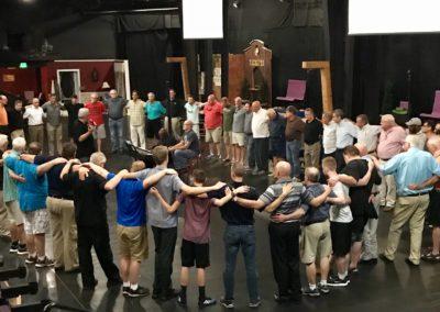 Prayer Huddle - BBC