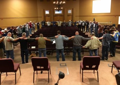 Prayer Huddle - MT
