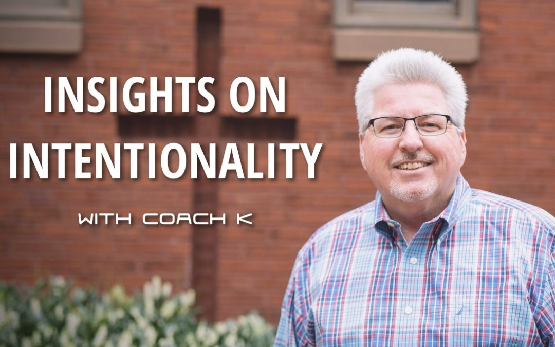 Insights on Intentionality, Episode 9 – Steve Miller
