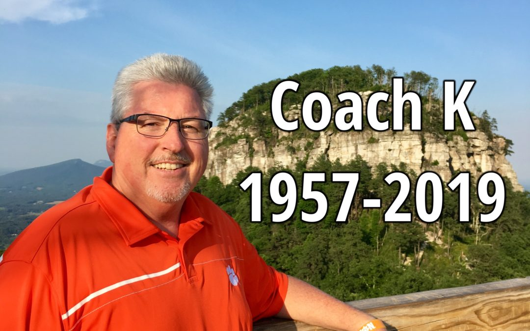 Jeff Kisiah (Coach K) – Nov. 10, 1957-May 3, 2019